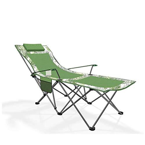 YLCJ Silla Plegable para Acampar al Aire Libre, Silla reclinable para tumbonas, con Respaldo Ajustable, Playa, Camping, jardín, Pliegues para un fácil Almacenamiento 175 x 58 x 70 cm (Color: C)