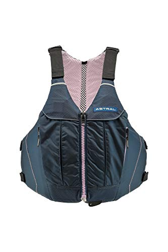 Astral Women's Linda Life Jacket PFD for Recreational Fishing and Touring Kayaking, Lilac Navy, L/XL