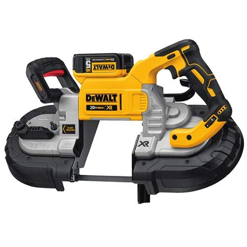 DEWALT 20V MAX XR Band Saw Kit, Dual Handed (DCS376P2)