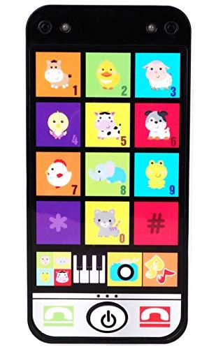 Toyland® My 1st Smart Phone - Bevat 10+ melodieën en dierengeluiden - 12m + - Babyspeelgoed