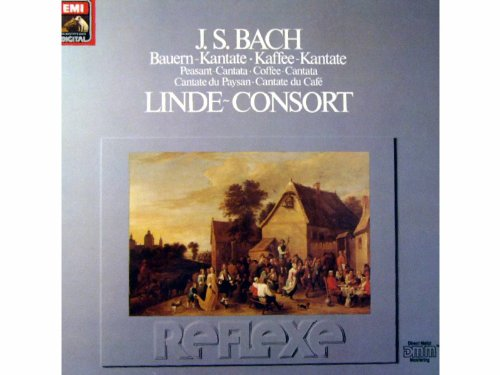 J.S. Bach - Mauern Kantate / Kaffee Kantate - Linde Consort [Vinyl LP record] [Schallplatte]