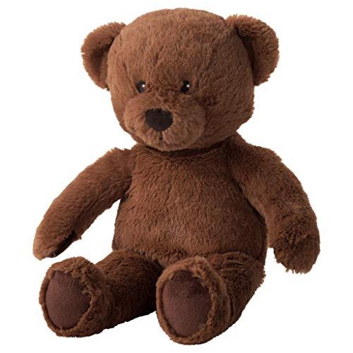Unbekannt IKEAStoff-Teddybär Brunbjörn Plüschtier Plüschbär - Stofftier mit 32 cm Länge - sehr kuschelig - waschbar - SICHERHEITSGETESTET