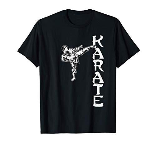 Karatè Kung-Fu Taekwondo Aikido Ju-Jutsu Karate Maglietta