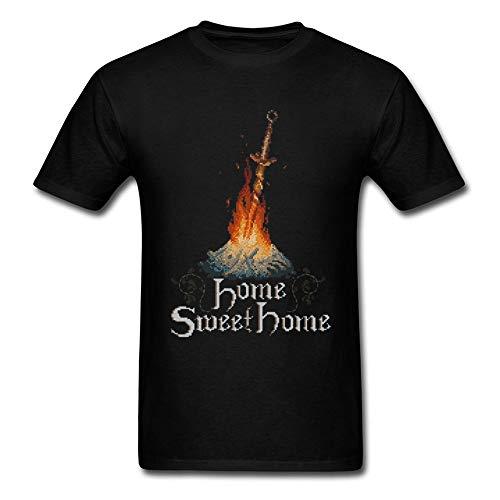Sweet Home T-Shirt Men Game Tshirt Dark Souls 3 Pixel Praise The Sun Bonfire Designer Clothes Sun Warriors Top T Shirts Fitness