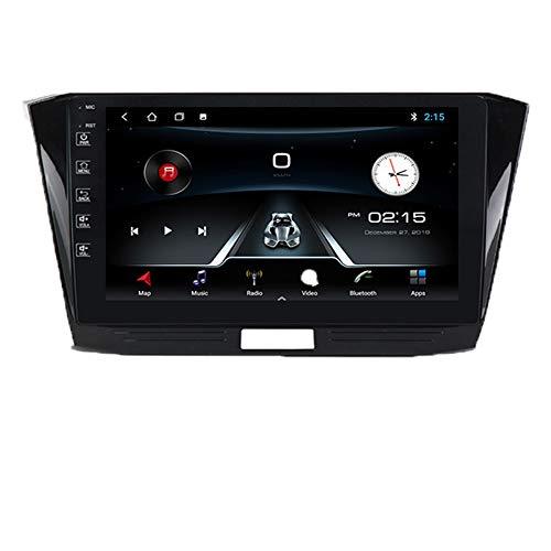 Pantalla Android 10 pulgadas de 10 pulgadas, adecuada para la navegación al automóvil de control central modificado por Volkswagen Passat B815-18, AUDIO STEREO AUDIO AUDIO, DSP integrado,M150a 2 + 32g