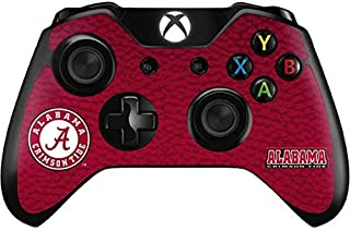 Skinit Decal Gaming Skin Compatible with Xbox One Controller - Officially Licensed College University of Alabama Seal Design