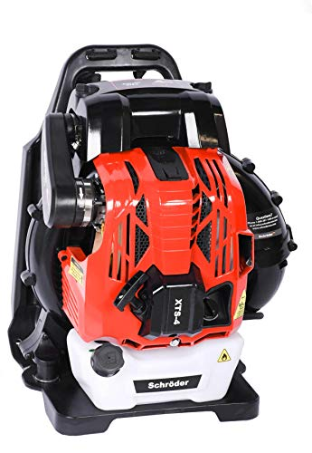 Best Review Of Schröder Backpack 4-Stoke Leaf Blower Model: XTS-4 80cc 865 CFM 220 MPH