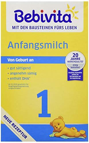 Bebivita Anfangsmilch - Kindermilch-mit Omega 3, 500g