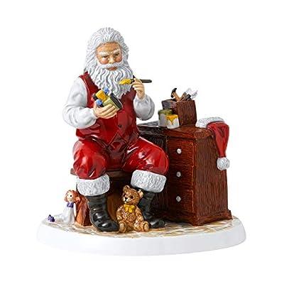 "Royal Doulton Santa's Work Shop 8.3"" Collectible Figurine, Multi"