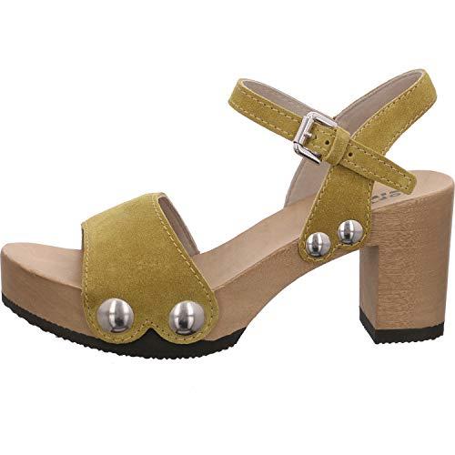Softclox Sandale Größe 37 EU Gelb (Gelb Kombi)