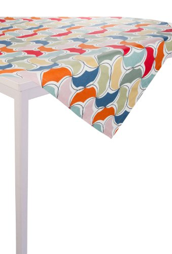 Linum Jelly M/C # Tischdecke (100x100) Multicolor