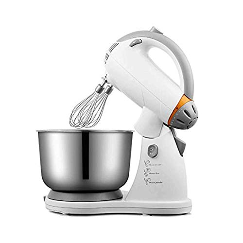 YFGQBCP 3.5L Stand Mixer, Hand Mixer Electric, Handheld Kitchen Mixer Dough Hooks, Balloon Whisk and Storage Case
