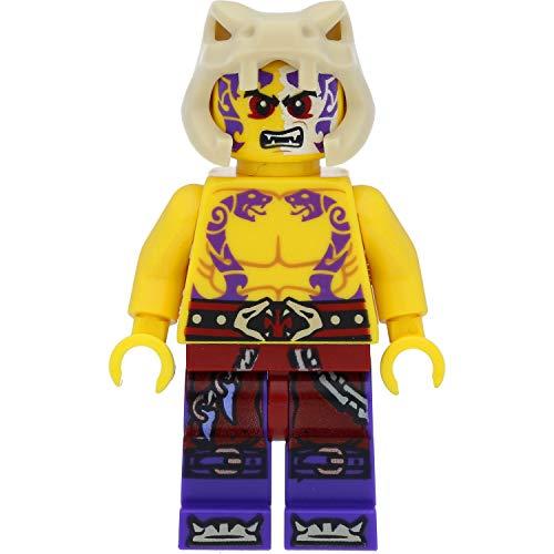 LEGO Ninjago Minifigur: Sleven (Anacondrai) mit Waffen (Wettkampf der Elemente)