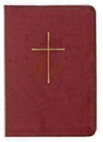 Prayer Book and Hymnal Leather Red