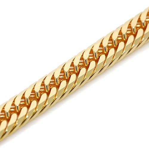 K18 金 喜平 ネックレス 8面T カット 18g 45cm 中折れ式金具