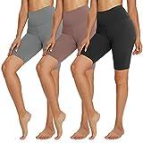 TNNZEET 3 Pack Biker Shorts for Women – 8'...