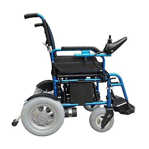 Oudere elektrische rolstoel, intelligente lichte opvouwbare gemotoriseerde rolstoel, smart controller van aluminiumlegering, multifunctionele rolstoel voor mobiliteit van beginners.