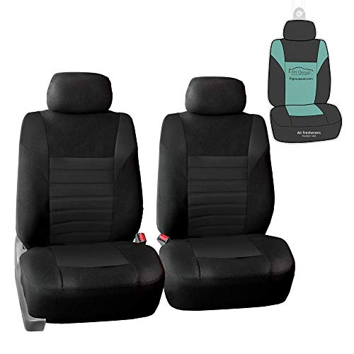 Universal Car Seat Covers Full Set Sporty RS Grey Washable Airbag Compatible