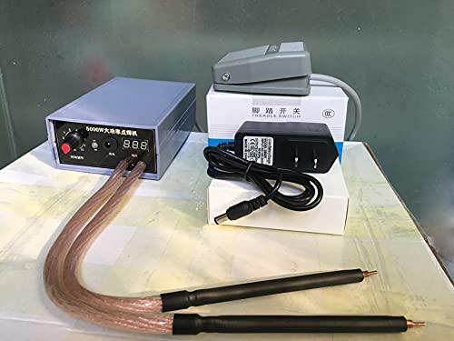 CENPEN 5000W 18650/21700/26550 Máquina de soldadura de planchas de batería de litio Soldador de alta potencia Nickel Strip de 2.5 mm Soldadura por puntos Reparación