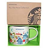 Starbucks City Mug You Are Here (YAH) Collcetion Nürnberg Deutschland Coffee Kaffeetasse (weiß, blau)