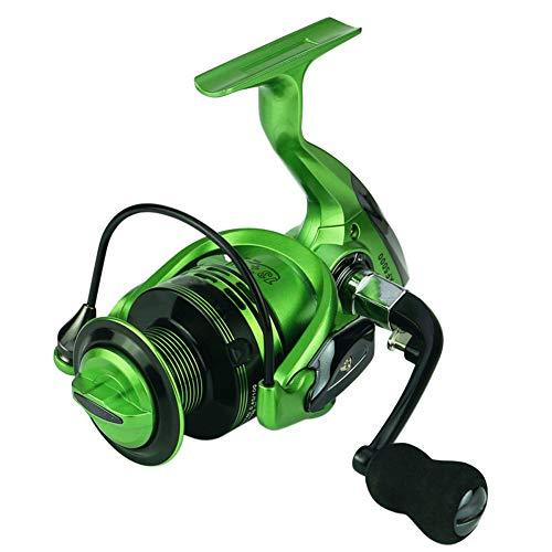 ZHENAI - Spincasting-Rollen in Green, Größe XF4000