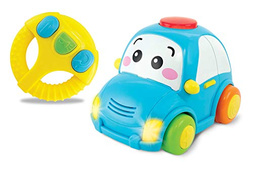 winfun- Coche Infantil Radio controlada con Volante, Color Azul (CPA Toy Group 7301155)