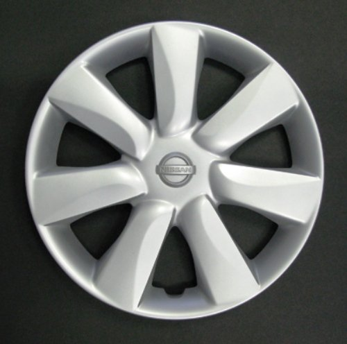 Set von 4 neuen Radkappen für Nissan Micra 2010> mit Originalfelgen in 14 Zoll