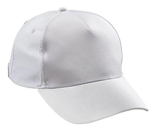 Marine Piscine Casquette STG Tec, White/Black, One Size, 1002474–001/800–110