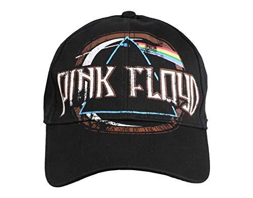 Pink Floyd Dark Side of The Moon Logo offiziell Nue Vintage Frayed Baseball Cap