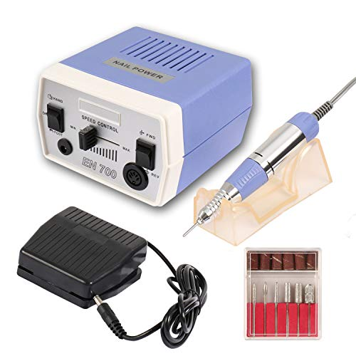 Dr.Nail Professional Nail Drill 30000RPM Electric Nail Machine for Acrylic Nail Drills Nail Art Manicure Grinder Machine Gel Nails Polisher Nail File