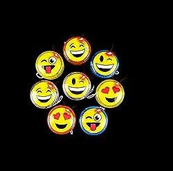 commercial 12 Pieces – Emoji | Smiley Light Up Yo-Yo, Various Faces and Experiences,… yoyos