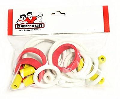 Game Room Guys Williams High Speed Pinball White Rubber Ring Kit