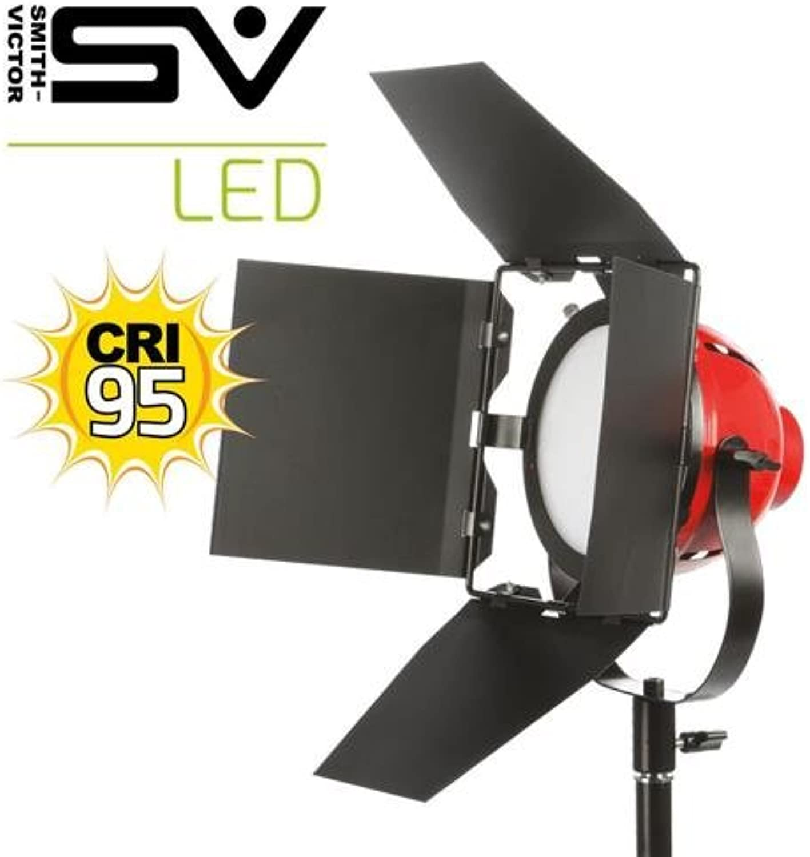 Smith-Victor LadyBug500 LED 1 Light - Daylight, with Removable 4-way Barn Doors