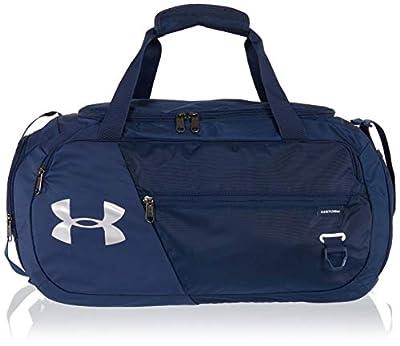 Under Armour Adult Undeniable Duffle 4.0 Gym Bag , Academy Blue (408)/Silver , Medium