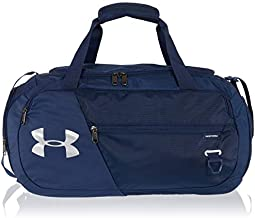 Under Armour Undeniable Duffle 4.0 Gym Bag, Academy Blue (408)/Silver, X-Small