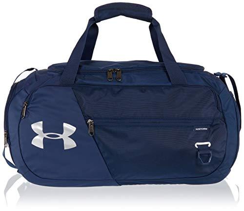 Under Armour Undeniable Duffle 4.0 bolsa de deportes, bolsa de entrenamiento unisex, Azul (Academy/Academy/Silver (408)), XS