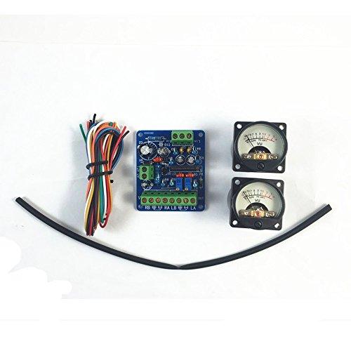 DOREKIN retroilluminazione Caldo VU Meter Panel e del Driver Audio Livello Amp