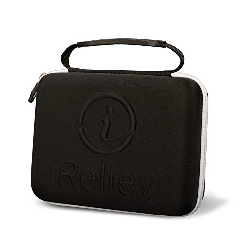 iReliev Protective Travel Carrying Case for Your TENS or TENS + EMS Unit. (Compatible with: ET- 7070 and ET- 1313 Devices)