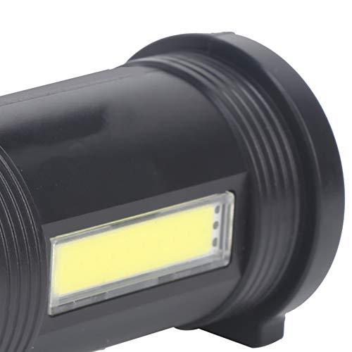 WMKD Linterna de Largo Alcance, protección contra la Lluvia, Linterna portátil Recargable no Deslumbrante, al Aire Libre para Viajes, casa, Campamento