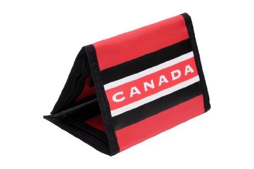 Team Canada Hockey Trifold Nylon Geldbörse