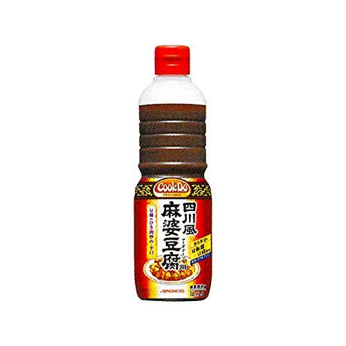 「Cook DoR」四川風麻婆豆腐用 1Lボトル×6