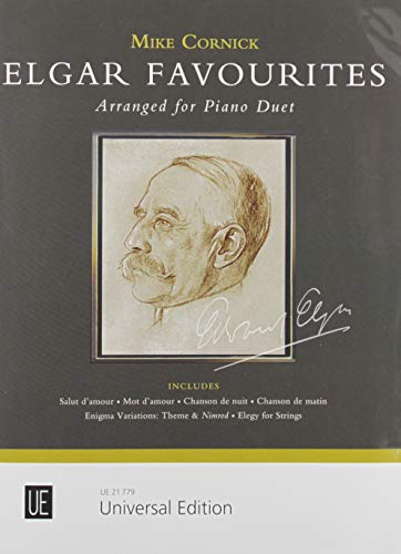 Elgar Favourites: für Klavier zu 4 Händen.