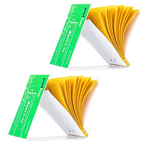 2 Packungen pH-Teststreifen, pH Indikator Papier Streifen, pH-Wert Weitbereich 1-14, Lackmuspapier (160 Streifen)