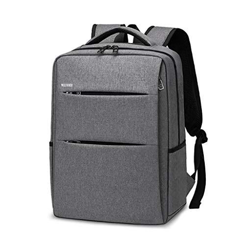 Laptop Bag Travel Laptop Backpack,Travel Backpacks Bookbag for Women & Men School College Students Backpack Fits 15.6 Inch Laptop,Gray Messenger & Shoulder Bags (Color : Gray)