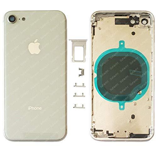 Back Cover Telaio SCOCCA Posteriore con Vetro iPhone 8 A1905 A1906 A1863 Bianco