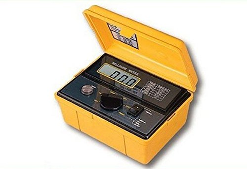 Gowe Lutron Milliohm Meter/Milliohm Tester (ISO-9001, CE, IEC1010) Display: 18 mm (1,8 cm) LCD