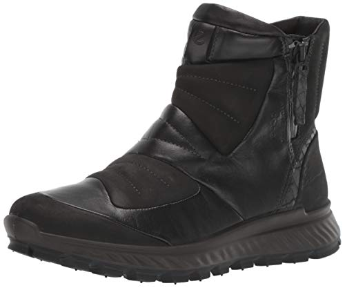 ECCO Exostrike W, Chaussures de Randonnée Hautes Femme, Noir (Black/Black 51052), 38 EU