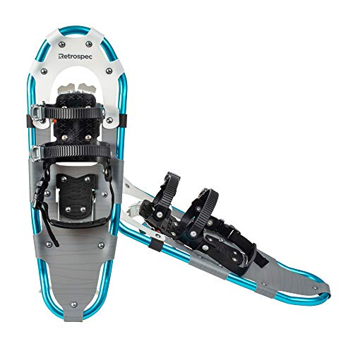 Retrospec Lynx Snowshoe for Men & Women, Aluminum All Terrain with Fully Adjustable Binding and Carry Bag