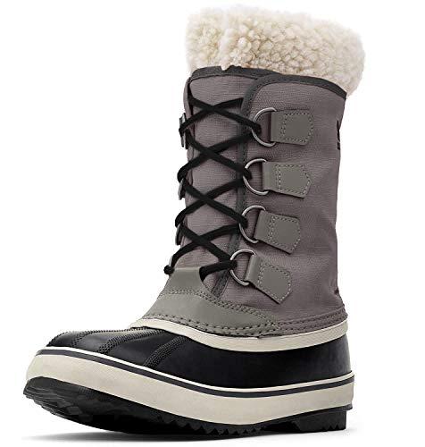 Sorel - Women's Winter Carnival Waterproof Boot for Winter, Quarry, Black, 6 M US