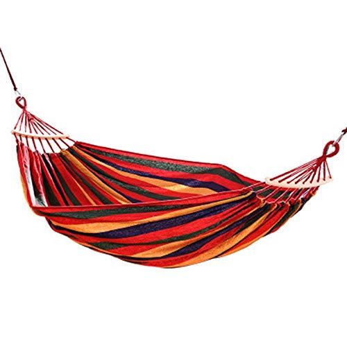 Unknow Hamac extérieur Toile épaisse Toile Durable Snug Secure Fun Swing Hanging Installation Facile